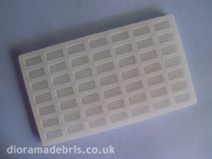 1:12 Scale UK Standard Size Imperial Bricks Mould (1120065)